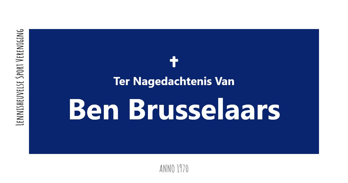 Ben Brusselaars overleden