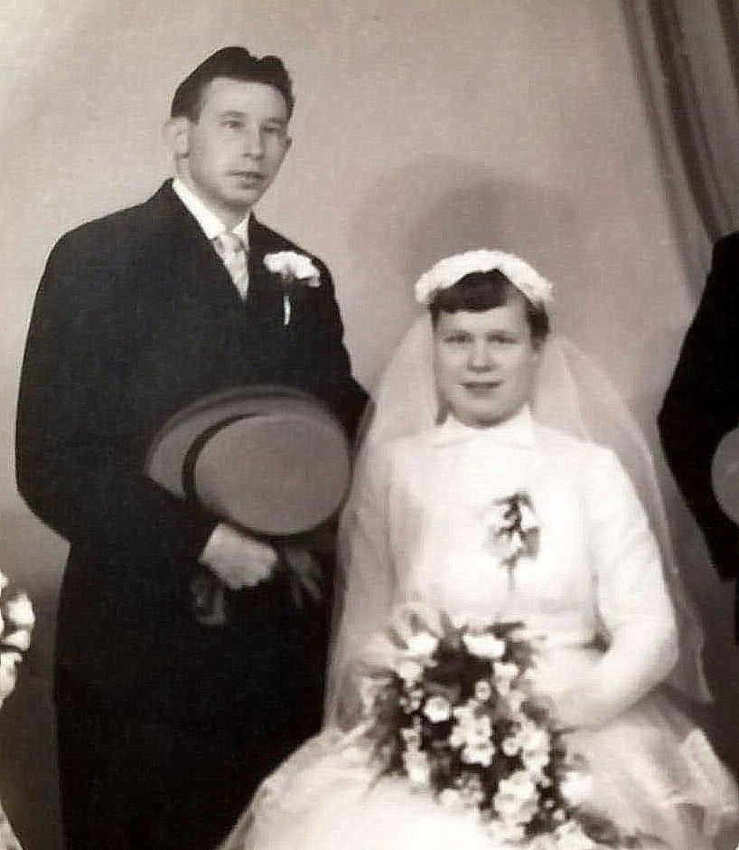 60 jarige huwelijksfeest Jos en Pieta