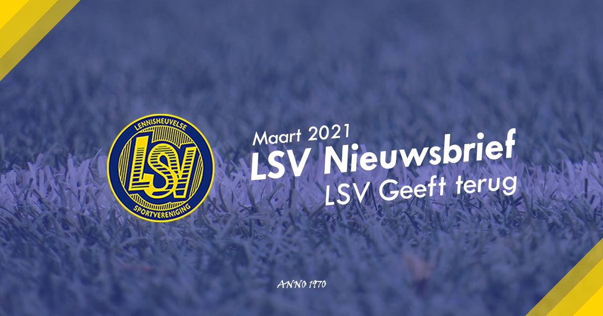 Maart 2021 | LSV Nieuwsbrief