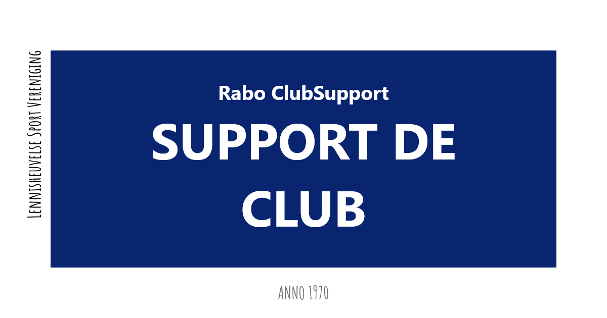 Rabobank club support 2021
